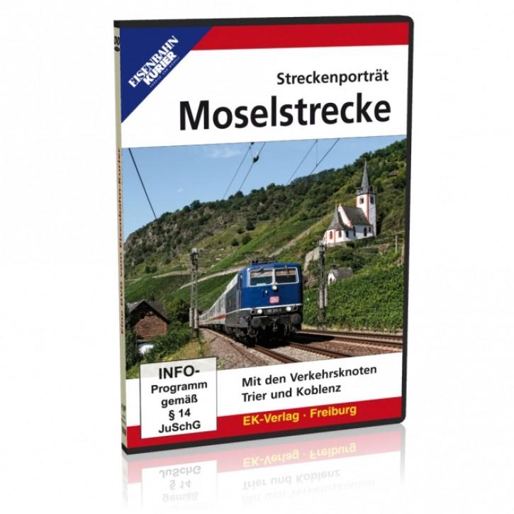 DVD: Streckenporträt Moselstrecke. Mit den Verkehrsknoten Trier und Koblenz