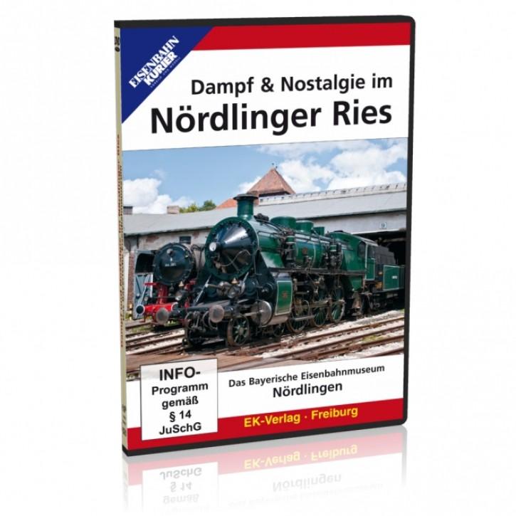 DVD: Dampf & Nostalgie im Nördlinger Ries. Das Bayerische Eisenbahnmuseum in Nördlingen