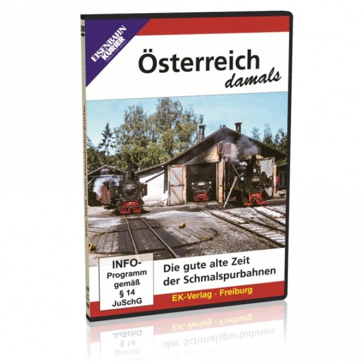 DVD: Österreich damals. Die gute alte Zeit der Schmalspurbahnen