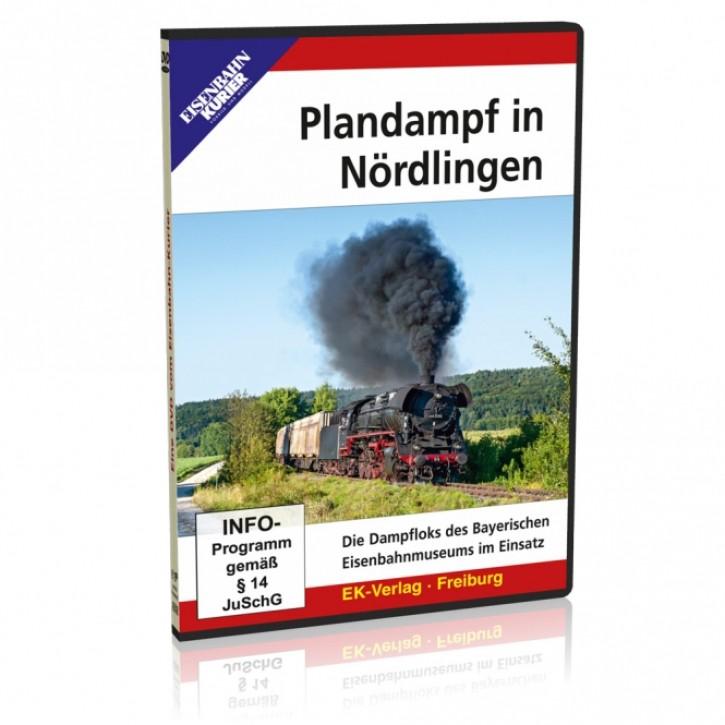 DVD: Plandampf in Nördlingen. Die Dampfloks des Bayerischen Eisenbahnmuseums im Einsatz