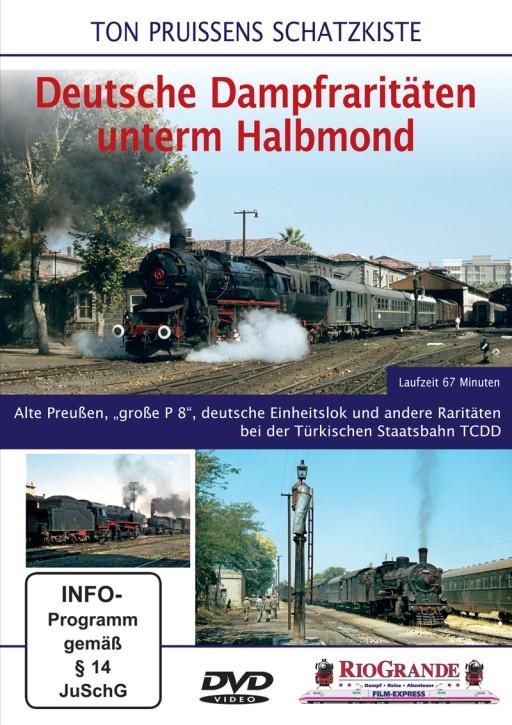 DVD: Ton Pruissens Schatzkiste. Deutsche Dampfraritäten unterm Halbmond
