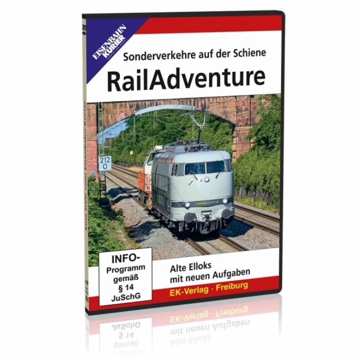 DVD: RailAdventure. Sonderverkehre auf der Schiene