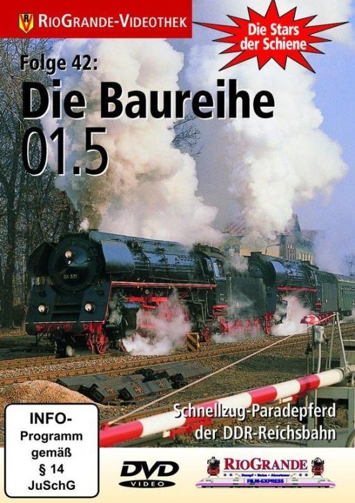 DVD: Stars der Schiene 42. Die Baureihe 01.5