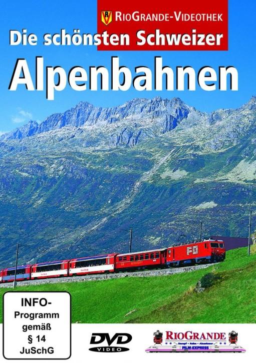 DVD: Die schönsten Schweizer Alpenbahnen