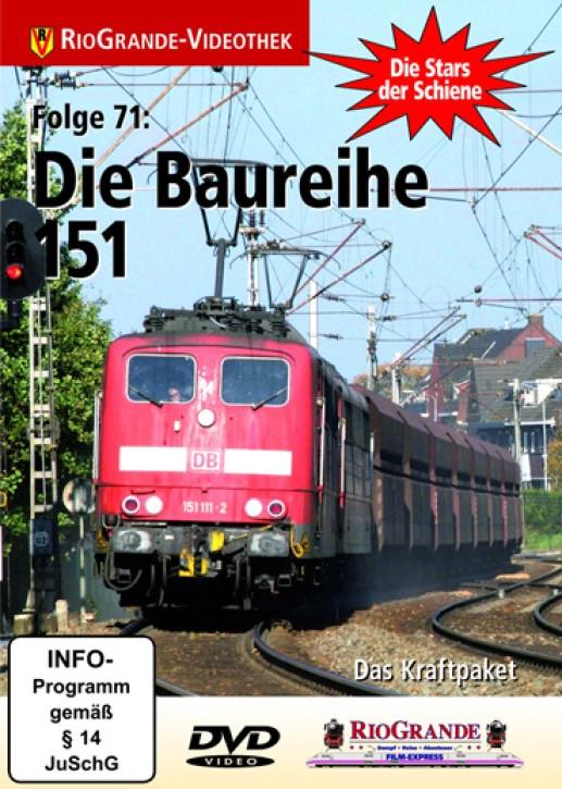 DVD: Stars der Schiene 71. Die Baureihe 151. Das Kraftpaket