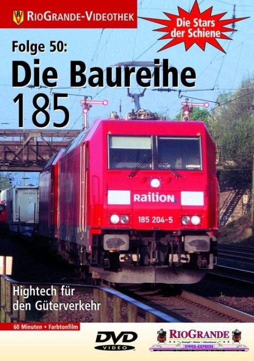 DVD: Stars der Schiene 50. Die Baureihe 185