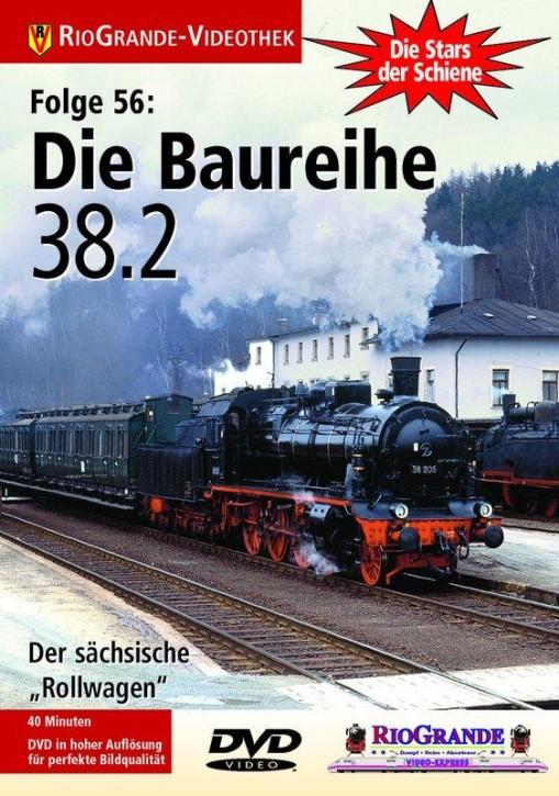 DVD: Stars der Schiene 56. Die Baureihe 38.2