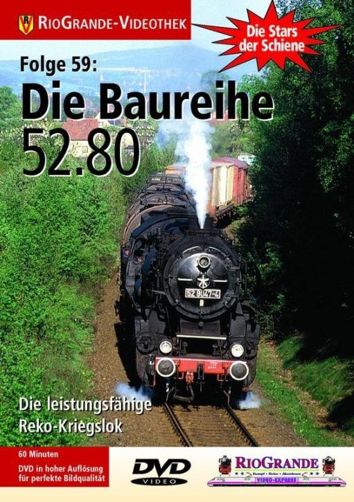 DVD: Stars der Schiene 59. Die Baureihe 52.80