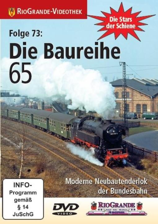 DVD: Stars der Schiene 73: Die Baureihe 65. Moderne Neubautenderlok der Bundesbahn