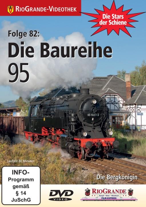 DVD: Stars der Schiene 82. Die Baureihe 95 - Die Bergkönigin
