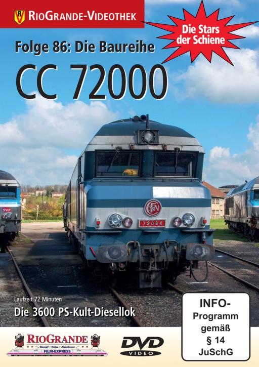 DVD: Stars der Schiene Folge 86. CC 72000. Die 3600 PS-Kult-Diesellok