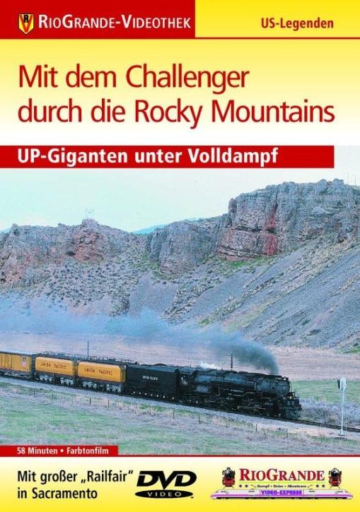DVD: Mit dem Challenger durch die Rocky Mountains