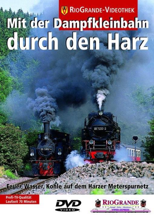 DVD: Mit der Dampfkleinbahn durch den Harz