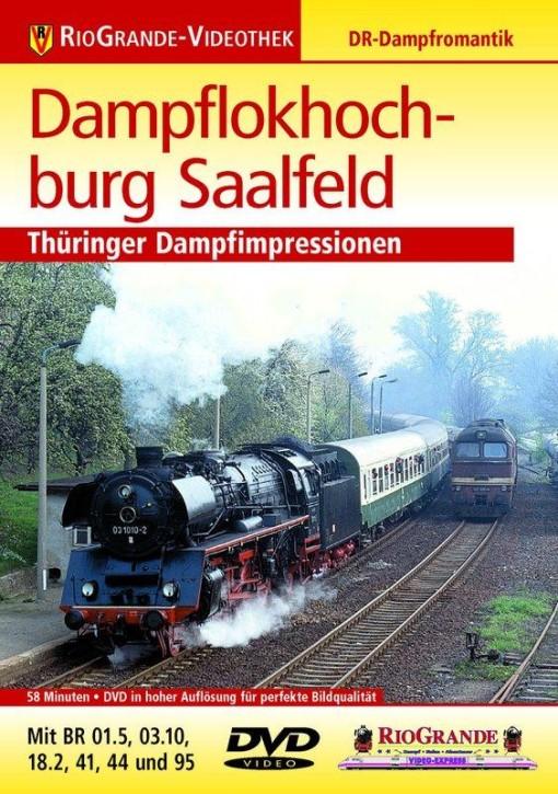 DVD: Dampflokhochburg Saalfeld. Thüringer Dampfimpressionen - mit BR 01.5, 03.10, 18.2, 41, 44 und 95