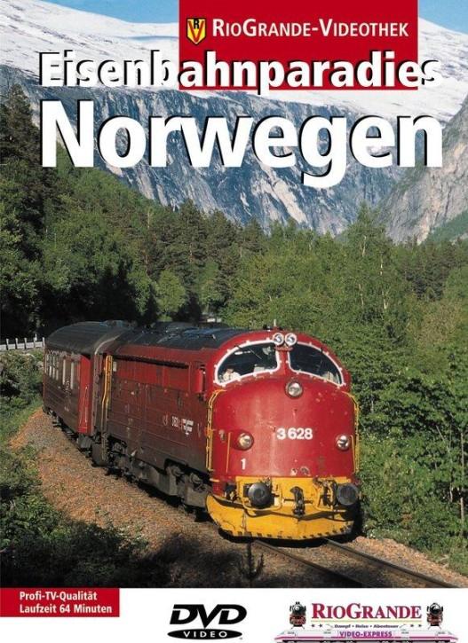 DVD: Eisenbahnparadies Norwegen