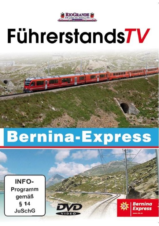 DVD: FührerstandsTV Bernina-Express