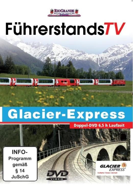 DVD: FührerstandsTV Glacier-Express