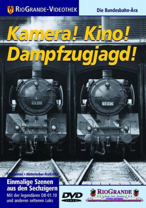 DVD: Kamera! Kino! Dampfzugjagd! Die Bundesbahn-Ära.
