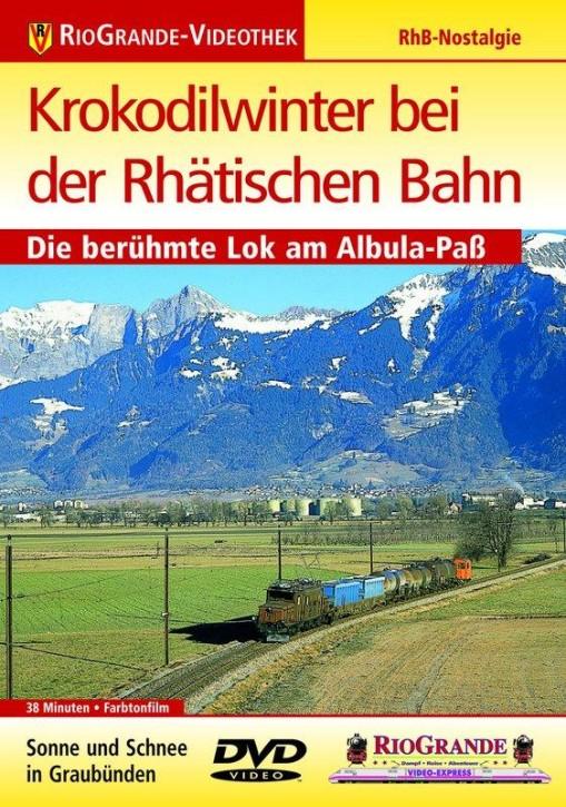 DVD: Krokodilwinter bei der Räthischen Bahn