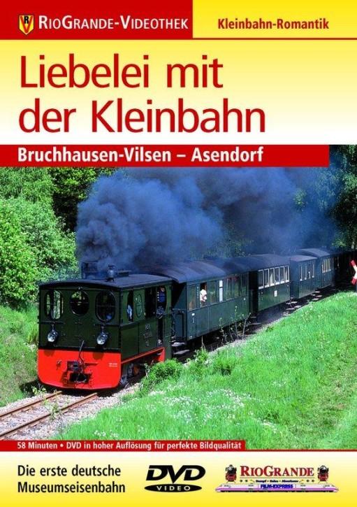 DVD: Liebelei mit der Kleinbahn. Bruchhausen-Vilsen - Asendorf