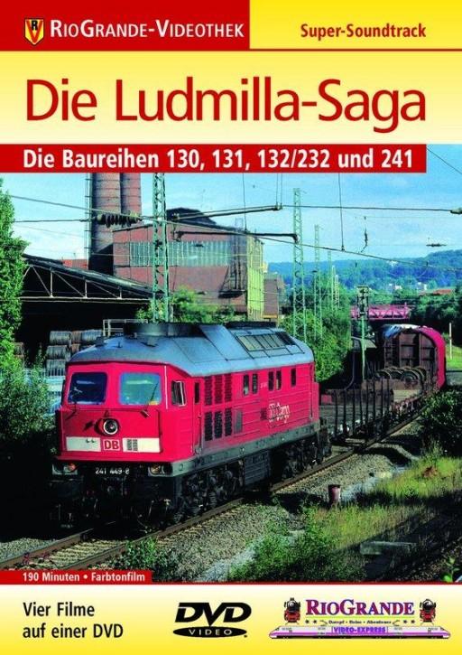 DVD: Die Ludmilla-Saga. Die Baureihen 130, 131, 132/232 und 241