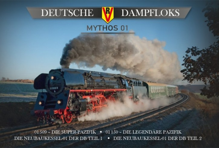 4er-DVD-Box: Deutsche Dampfloks - Mythos 01