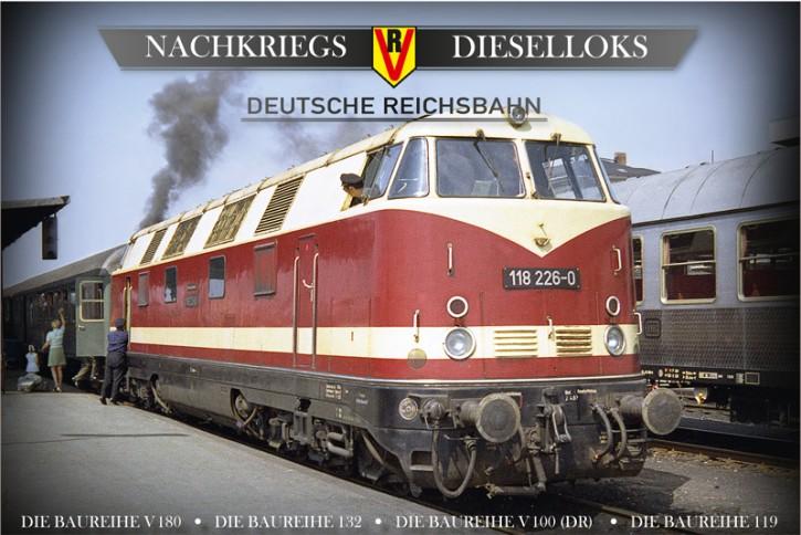 4er-DVD-Box: Nachkriegs-Dieselloks Deutsche Reichsbahn