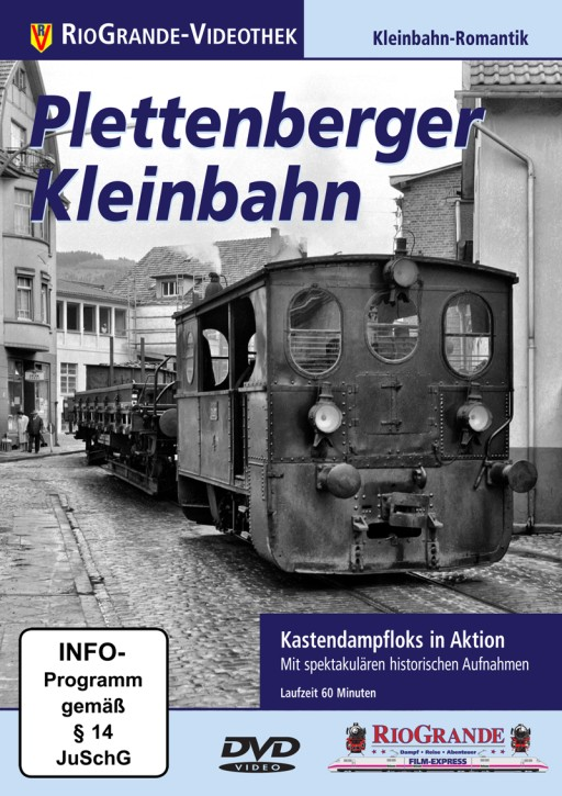 DVD: Plettenberger Kleinbahn. Kastendampfloks in Aktion