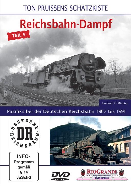 DVD: Ton Pruissens Filmschätze - Reichsbahn-Dampf Teil 5. Pazifiks bei der Deutschen Reichsbahn 1967 bis 1991