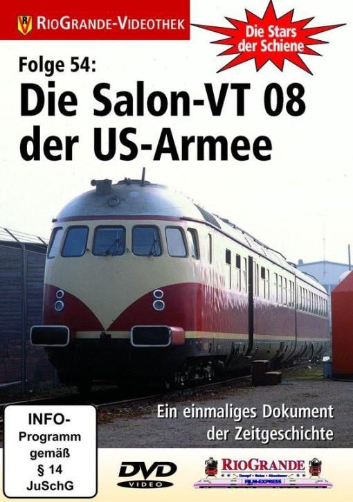 DVD: Stars der Schiene Folge 54. Die Salon-VT 08 der US-Armee