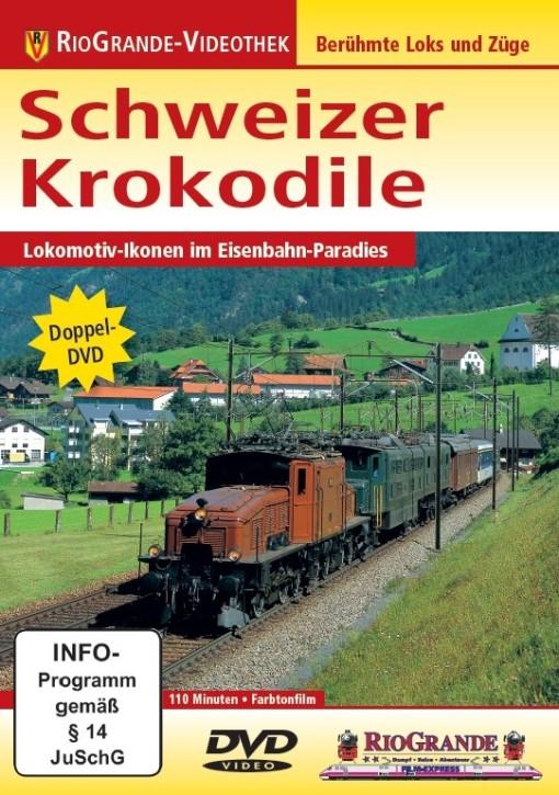 Doppel-DVD: Schweizer Krokodile. Lokomotiv-Ikonen im Eisenbahn-Paradies