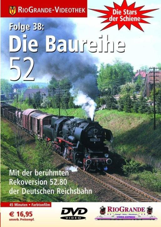 DVD: Stars der Schiene Folge 38. Die Baureihe 52