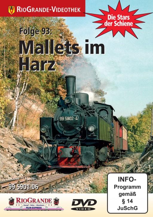DVD: Stars der Schiene Folge 93. Mallets im Harz - 99 5901-06