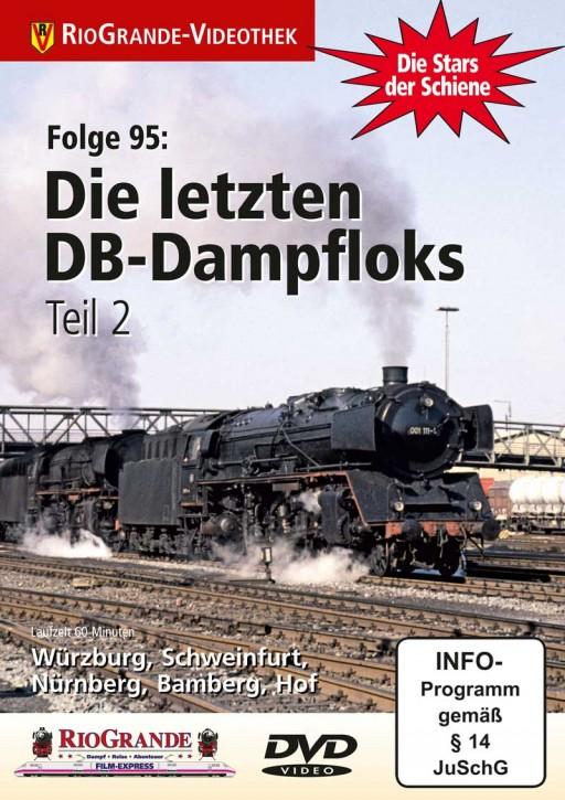 DVD: Stars der Schiene Folge 95. Die letzten DB-Dampfloks Teil 2