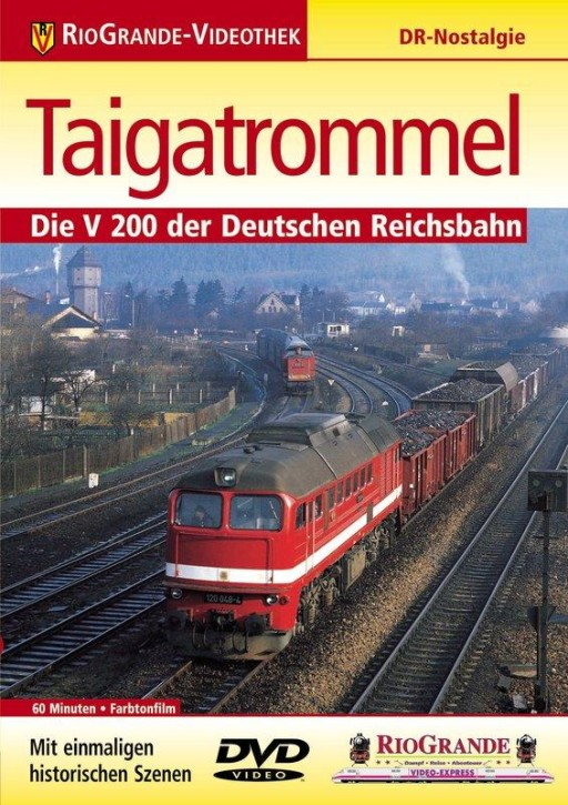 DVD: Taigatrommel - Die V 200 der DR