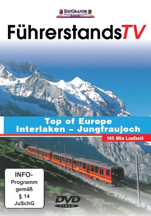 DVD: Top of Europe. Interlaken – Jungfraujoch