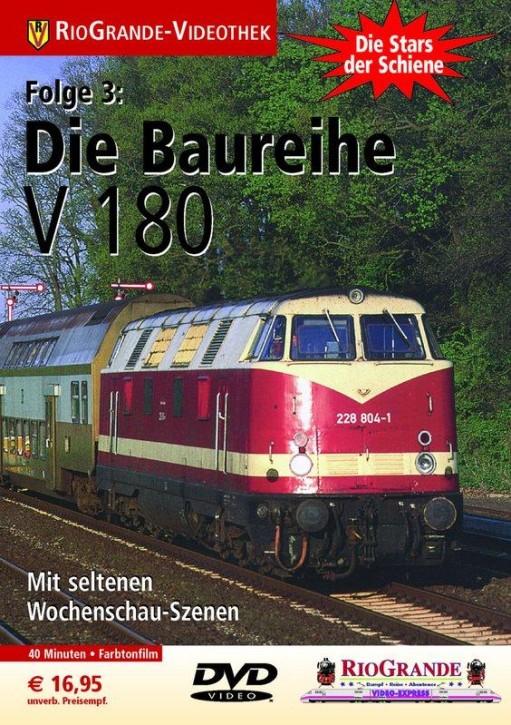 DVD: Stars der Schiene 3. Die Baureihe V 180 - DR-Großdiesellok