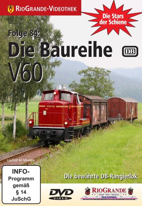 DVD: Stars der Schiene Folge 84. Die Baureihe V 60. Die bewährte DB-Rangierlok