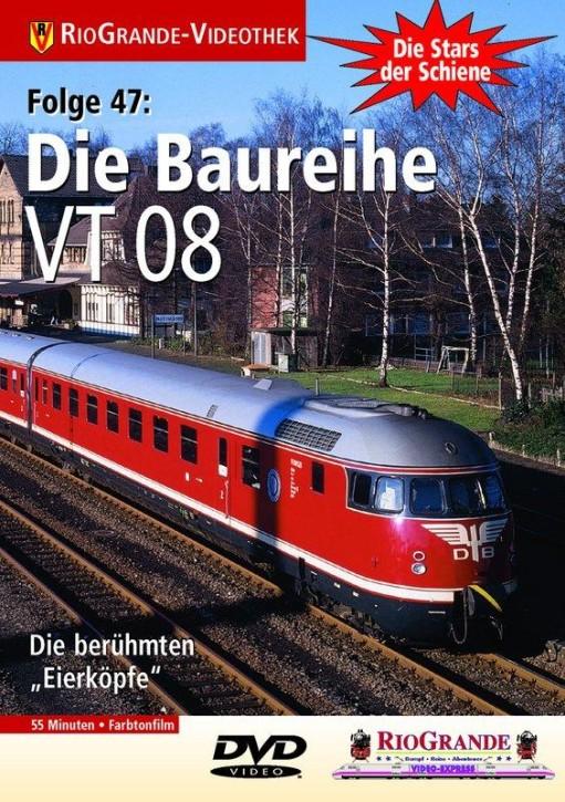 DVD: Stars der Schiene 47. Die Baureihe VT 08
