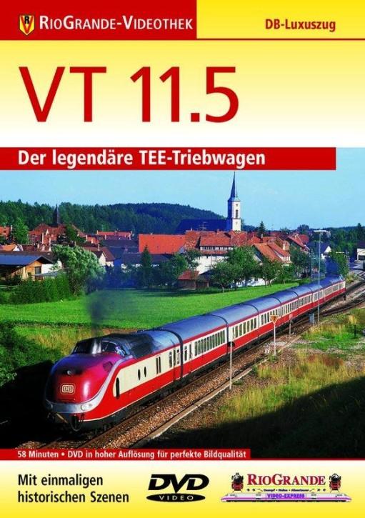 DVD: VT 11.5 - Der legendäre TEE-Triebwagen