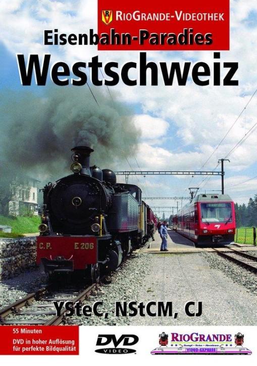 DVD: Eisenbahn-Paradies Westschweiz