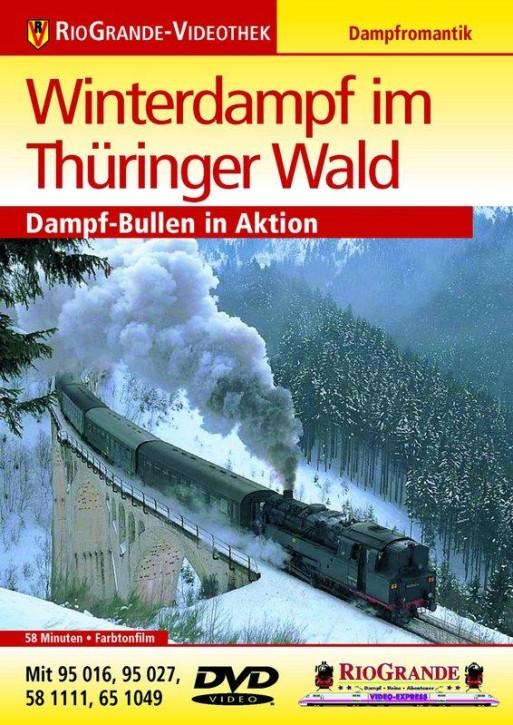 DVD: Winterdampf im Thüringer Wald. Dampf-Bullen in Aktion. Mit 95 016, 95 027, 56 1111, 65 1049