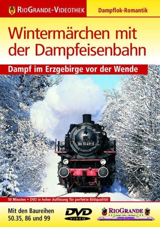 DVD: Wintermärchen mit der Dampfeisenbahn