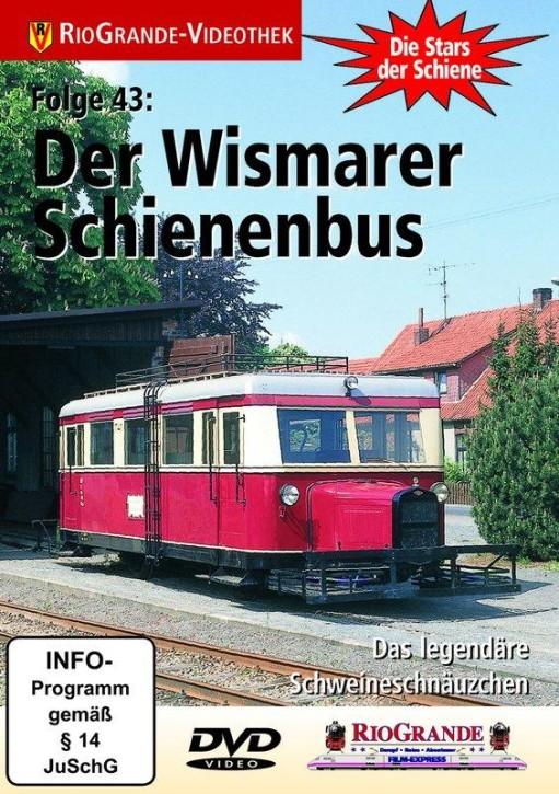 DVD: Stars der Schiene 43. Der Wismarer Schienenbus. Das legendäre Schweineschwänzchen