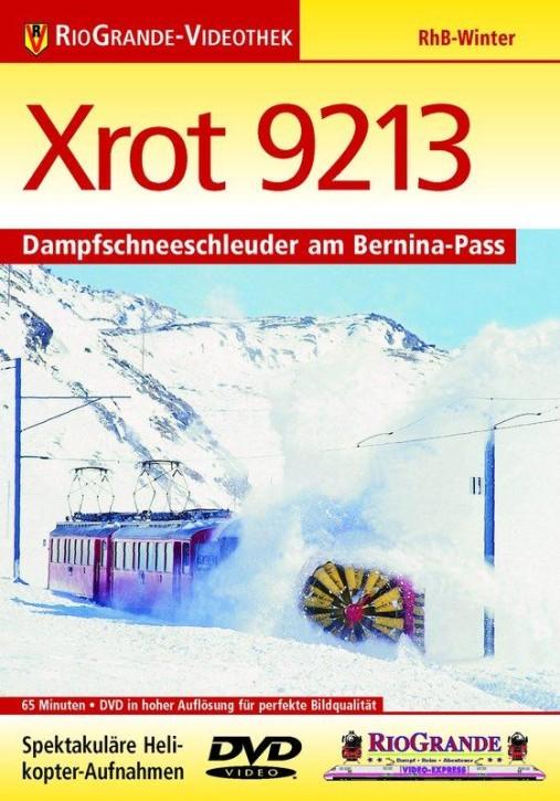 DVD: Xrot 9213 - Dampfschneeschleuder am Bernina-Pass