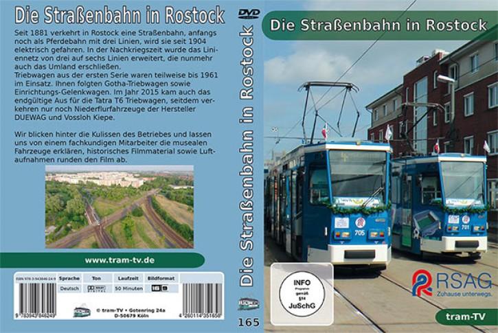 DVD: Die Straßenbahn in Rostock