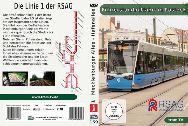 DVD: Führerstandmitfahrt in Rostock - Linie 1