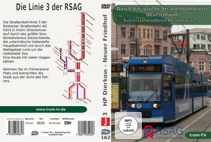 DVD: Führerstandmitfahrt in Rostock - Linie 3