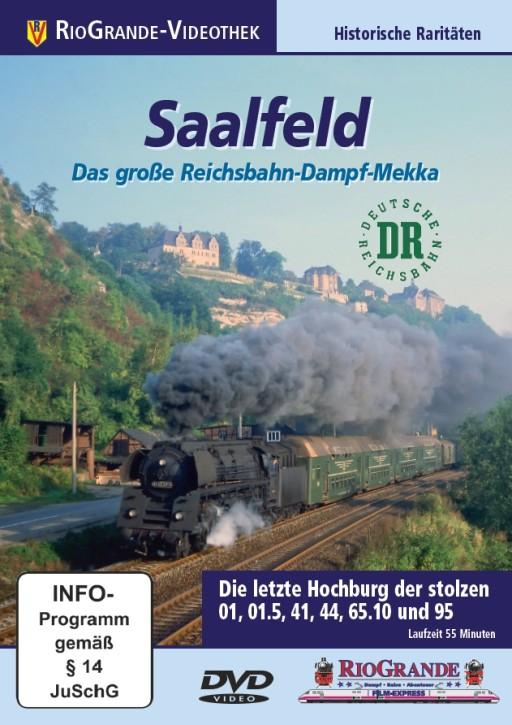 DVD: Saalfeld. Das große Reichsbahn-Dampf-Mekka. Die letzte Hochburg der stolzen 01, 01.5, 41, 44, 65.10 und 95
