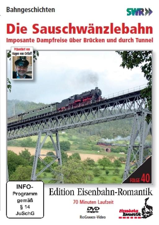 DVD: Die Sauschwänzlebahn. Imposante Dampfreise über Brücken und durch Tunnel